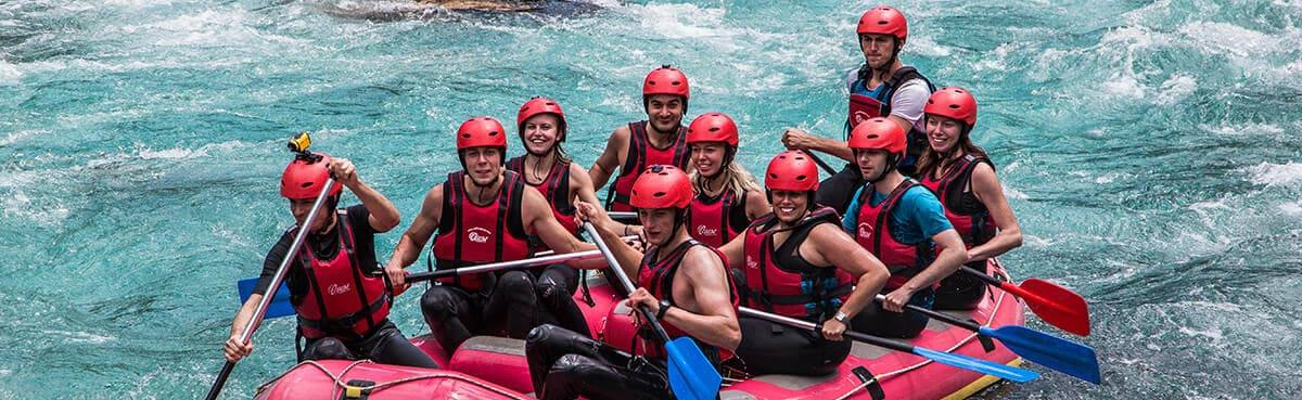 Rafting on the Tara river-30km