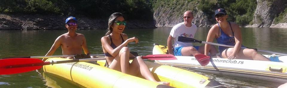 Drina Kayak Adventure-15km